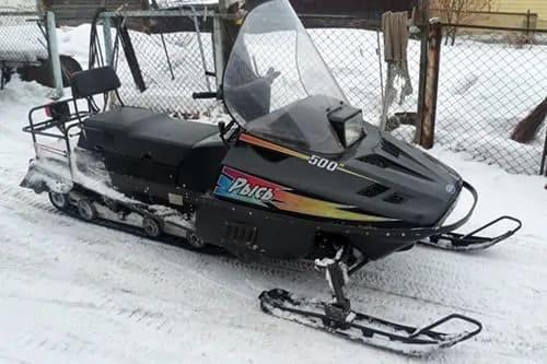 Мощный снегоход Рысь 500