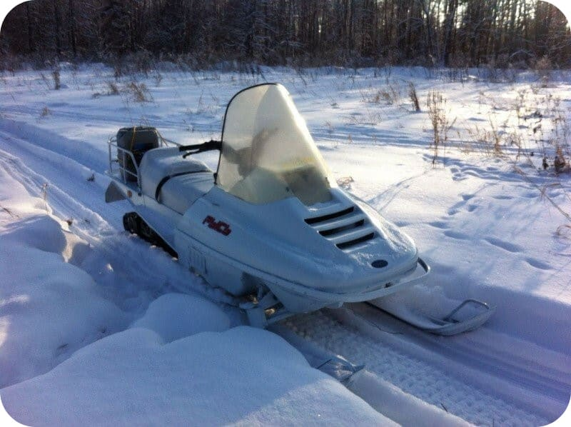 Снегоход Рысь