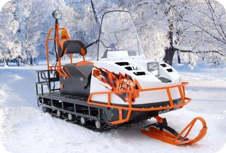 Проходимость Cнегохода Буран Лидер