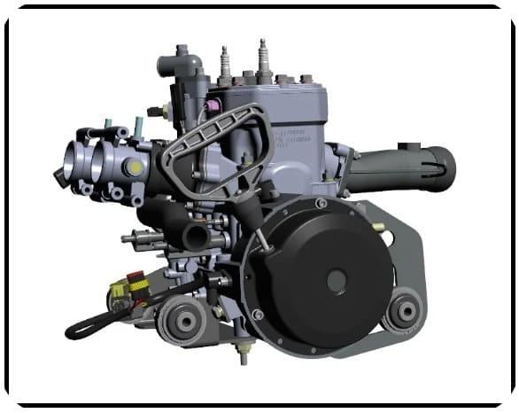 Двигатель Снегохода RM Vector 551i