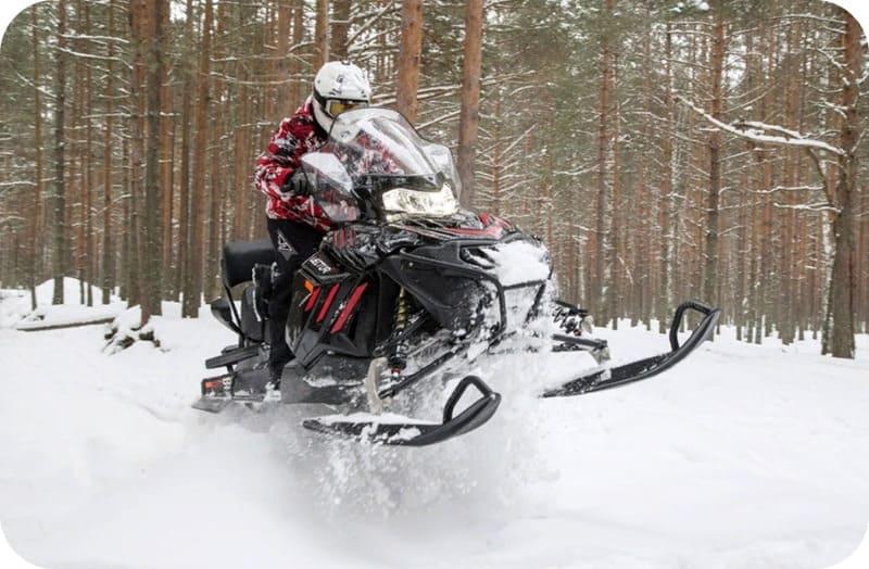 Проходимость Снегохода RM Vector 551i