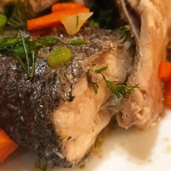 Форельное мясо