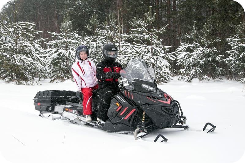 Надёжность Снегохода RM Vector 551i