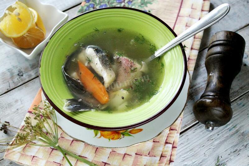 Вкусный суп с добавлением стерляди