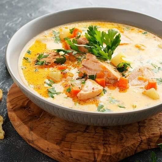 Суп по-норвежски
