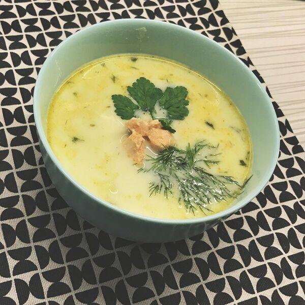 Суп со сливками