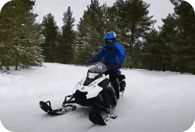 Проходимость снегохода Стелс капитан