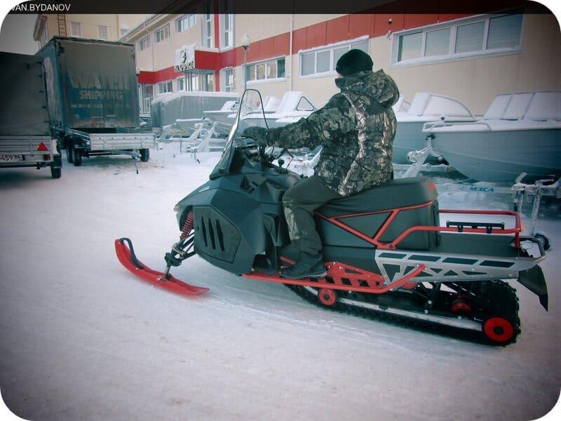 Мощный снегоход Irbis Tungus 500L