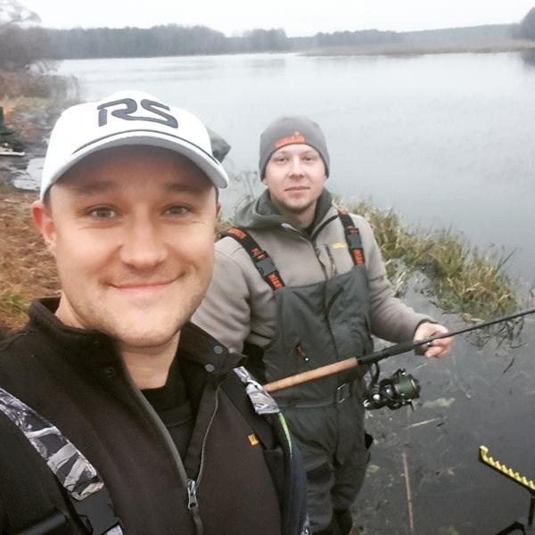 Рыбная ловля на рассвете