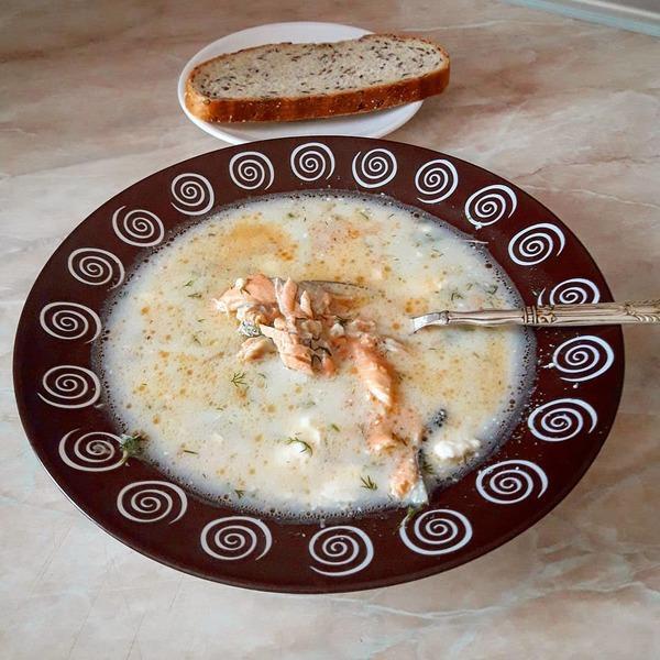 Лохикейто суп