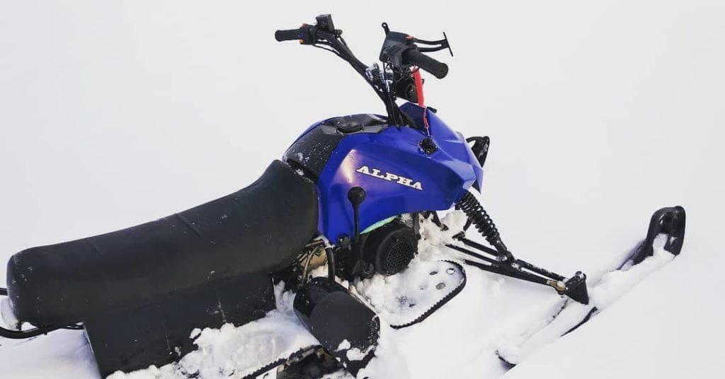Особенности снегохода Лидер Альфа 150