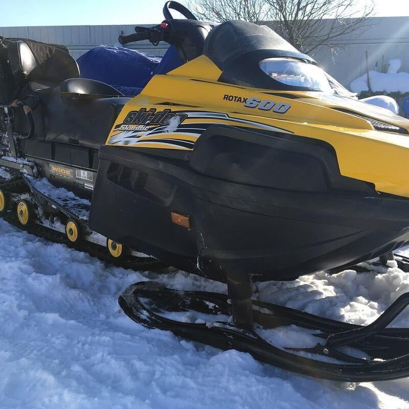 Ремонт и запчасти для снегохода brp ski doo skandic 600