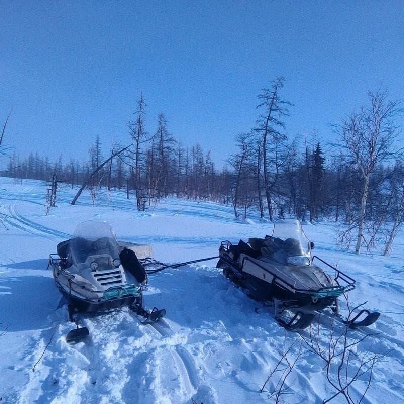 Снегоход Рысь модель 113