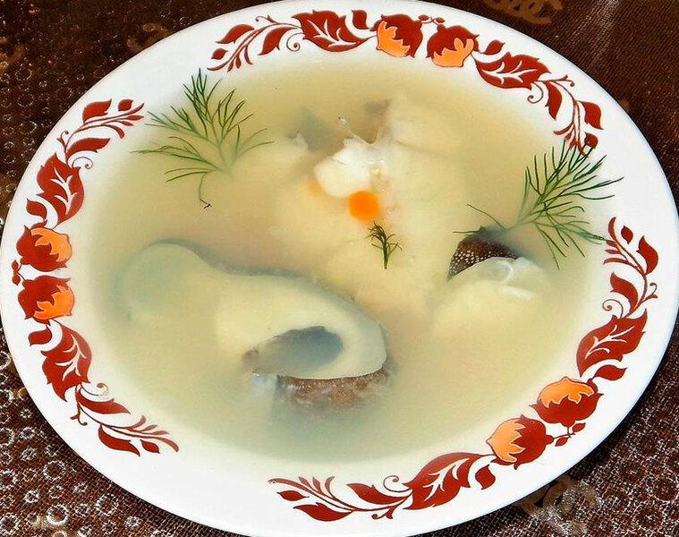 Рецепт супа из зубатки
