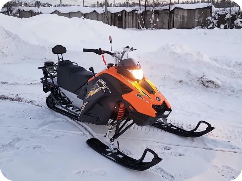 Тест-драйв Stels Kapitan S150