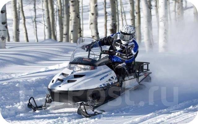 Проходимость снегохода Поларис