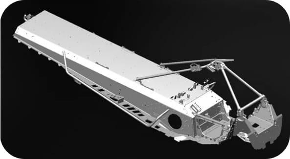 алюминиевая платформа Снегохода RM Vector 551i