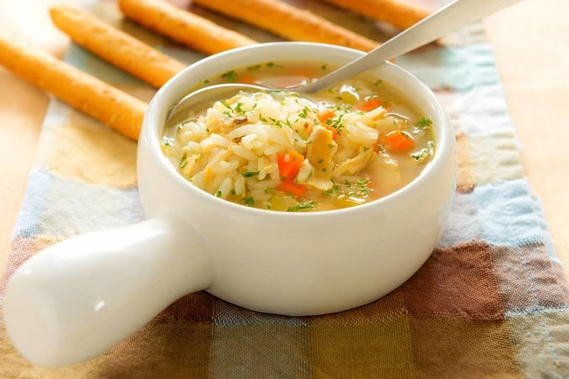 Суп с добавлением риса