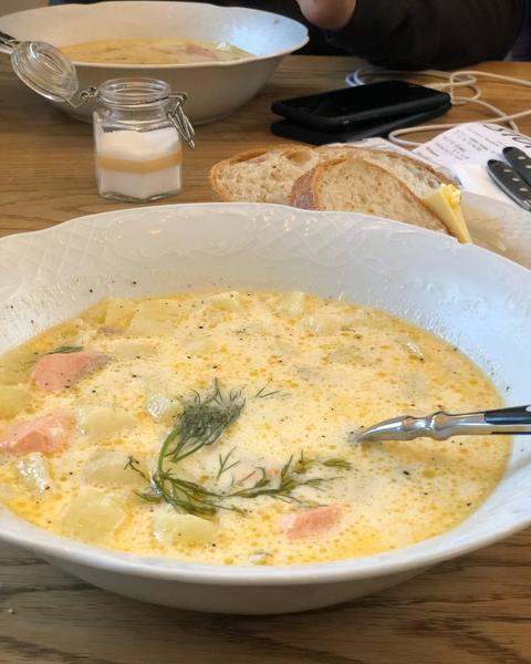 Вкусный суп лохикейто