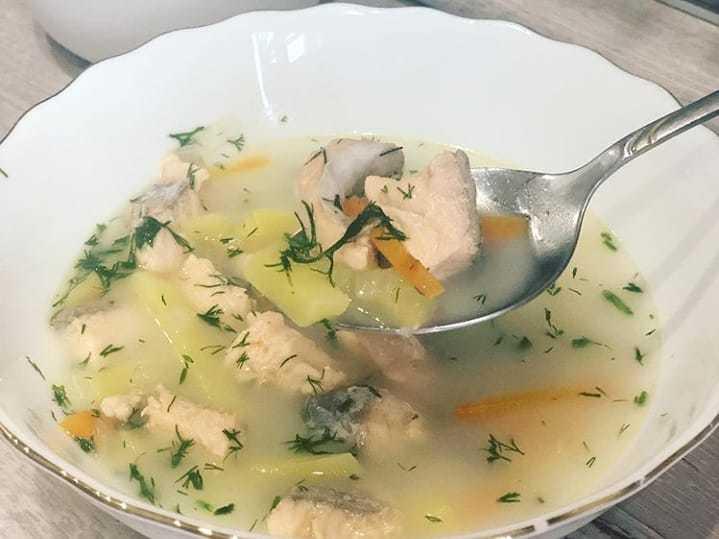 Вкусный суп и горбуши