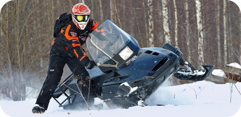 Проходимость снегохода Ямаха Викинг