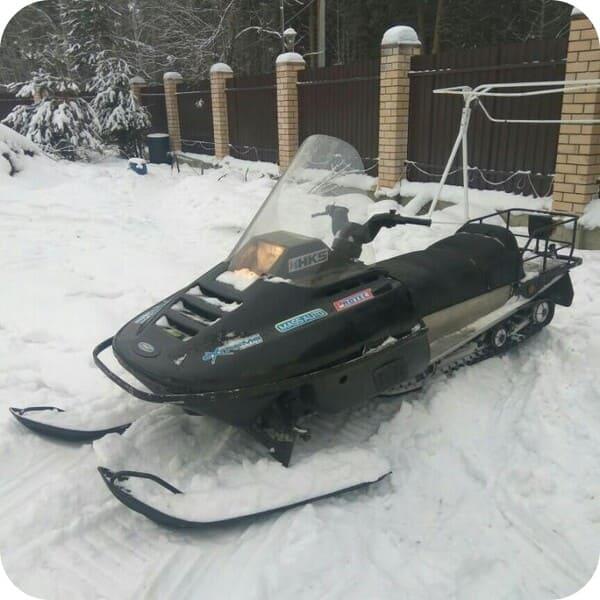 Проходимость снегохода Рысь