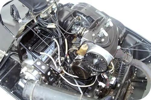 Двигатель Снегохода Рысь 500