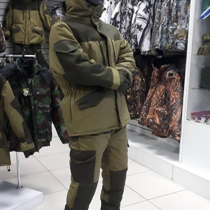 Зимние рыболовные костюмы российского производства