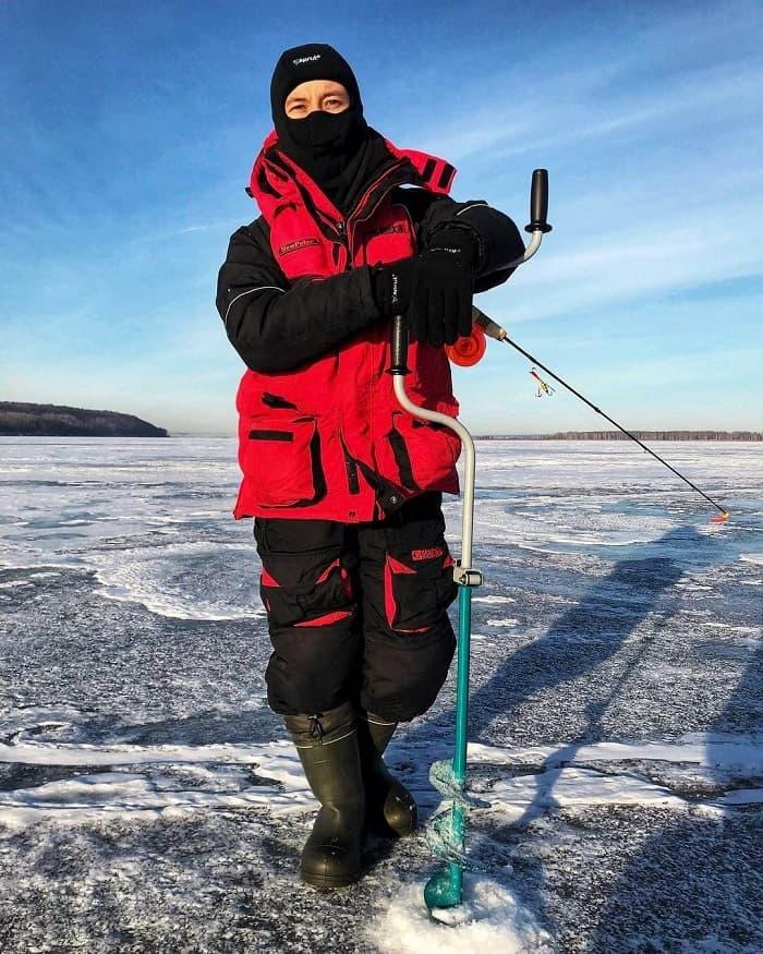 Зимняя одежда рыбака