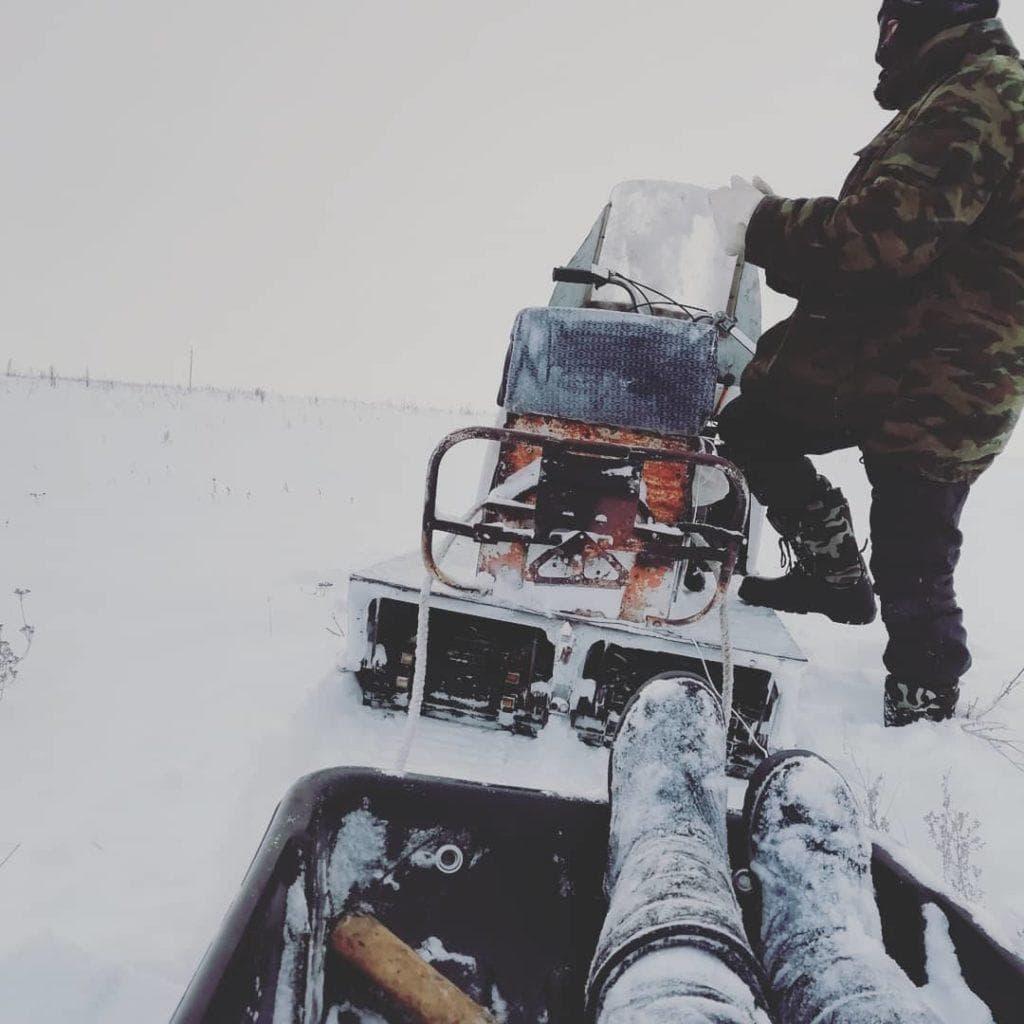 Вариатор снегохода Буран