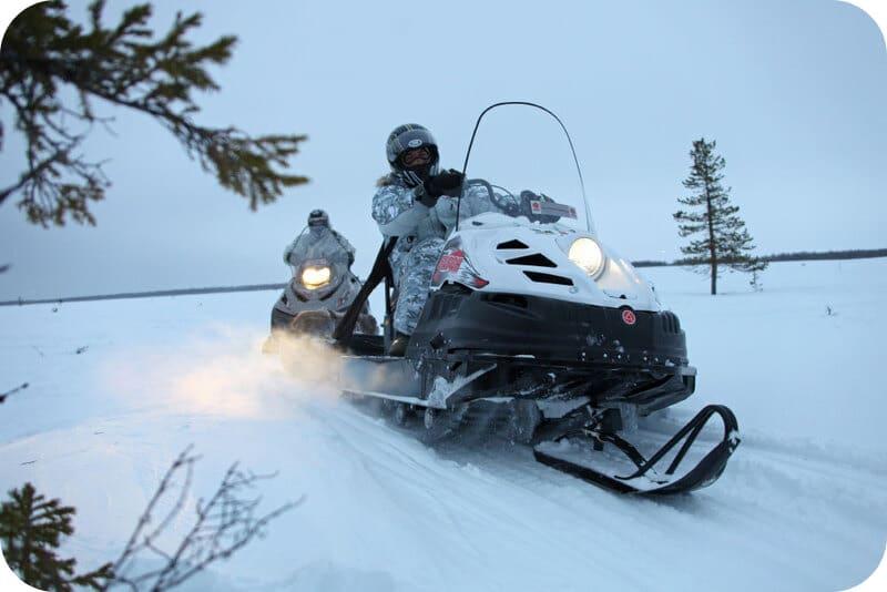 Эффективность снегохода Буран