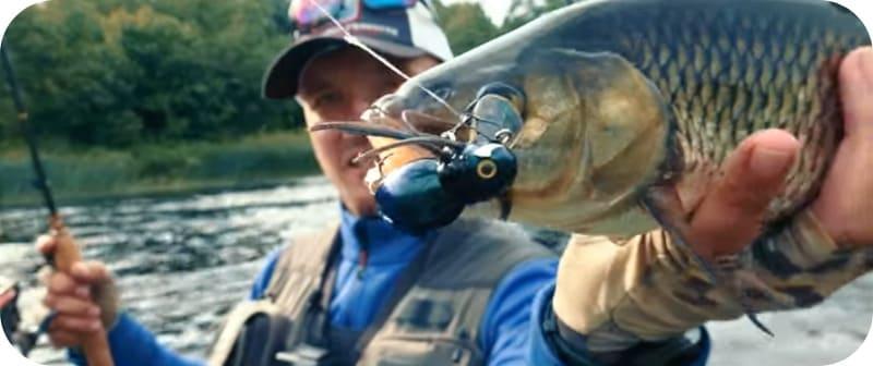Рыбалка с воблером на головля