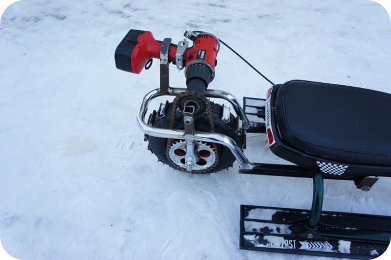 снегоходы электрические на аккумуляторных батареях