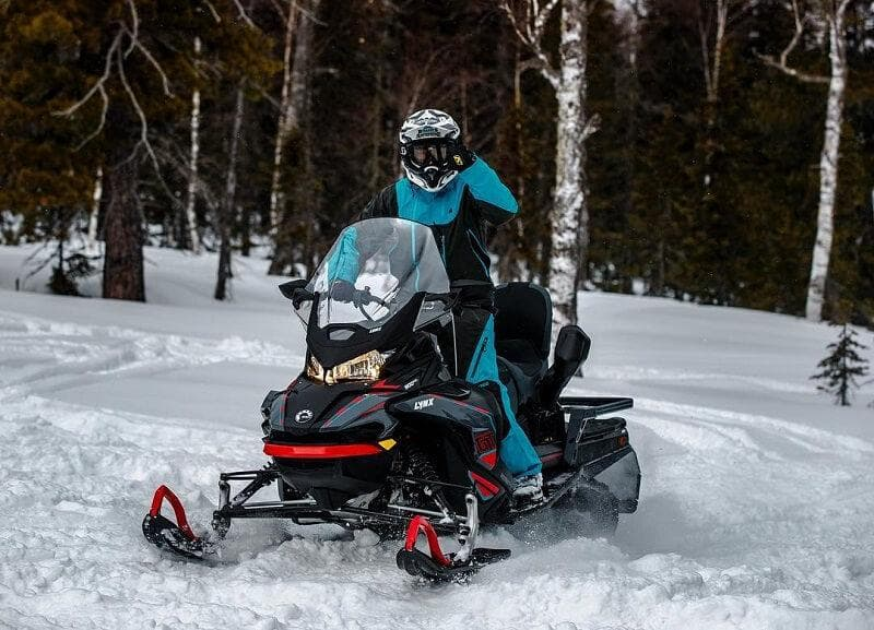 Снегоход LYNX COMMANDER GT 900 ACE COMFORT KIT