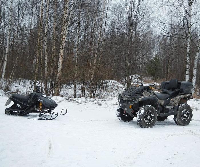 Ремонтные работы для снегохода
