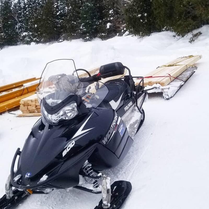 Ремонт снегохода Polaris WideTrak