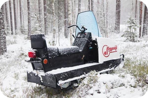 Надёжность снегохода Буран