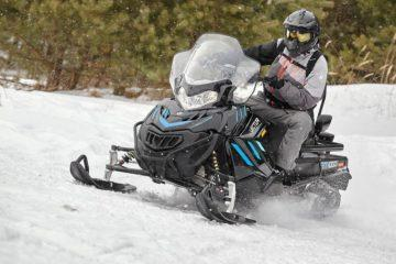 снегоход вектор