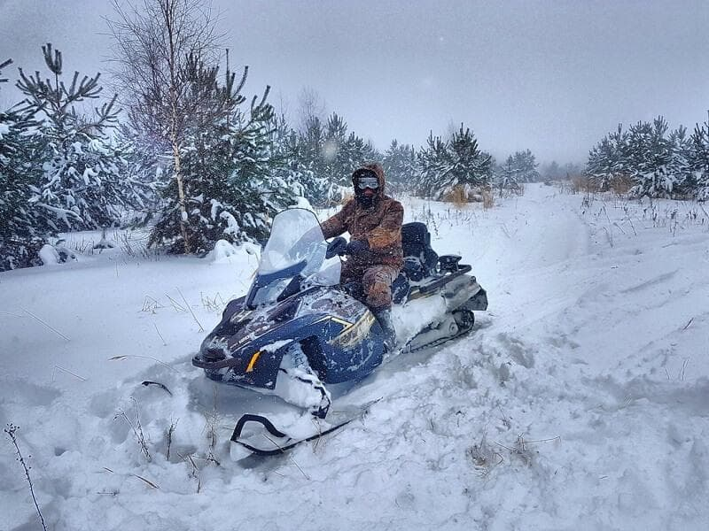 Настройка вариатора снегохода