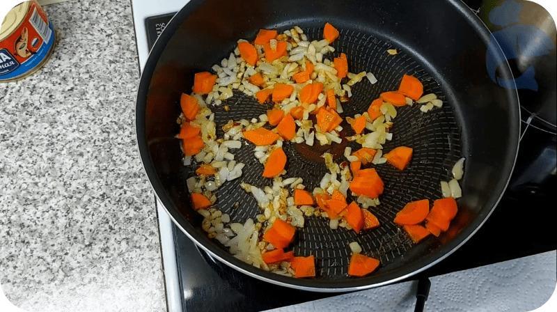 Жарка моркови