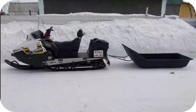 Грузоподъёмность снегохода Ермак