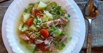 суп из угрей