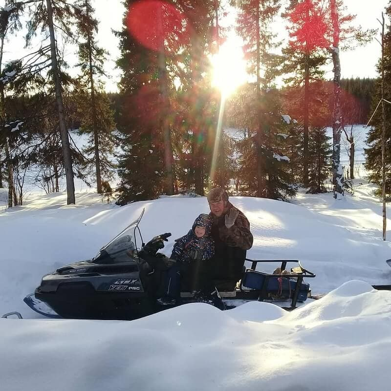 Снегоход ice deer idc 170