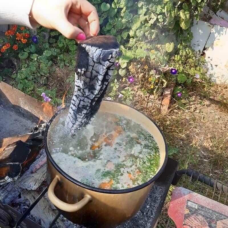 как убрать горечь в ухе от рыбы