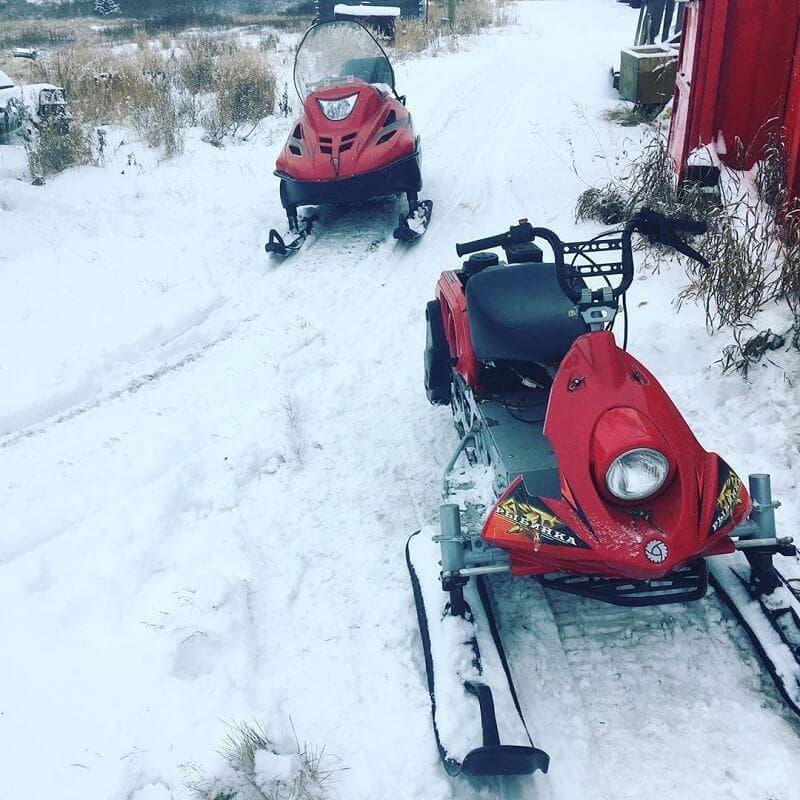 Снегоход ЛАЙКА