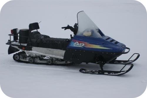 ходовые качества Снегохода Рысь 500