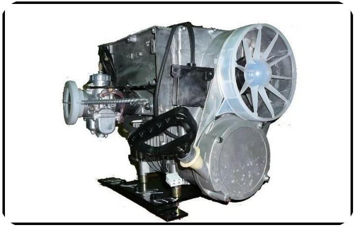 Двигатель Cнегохода Буран Лидер