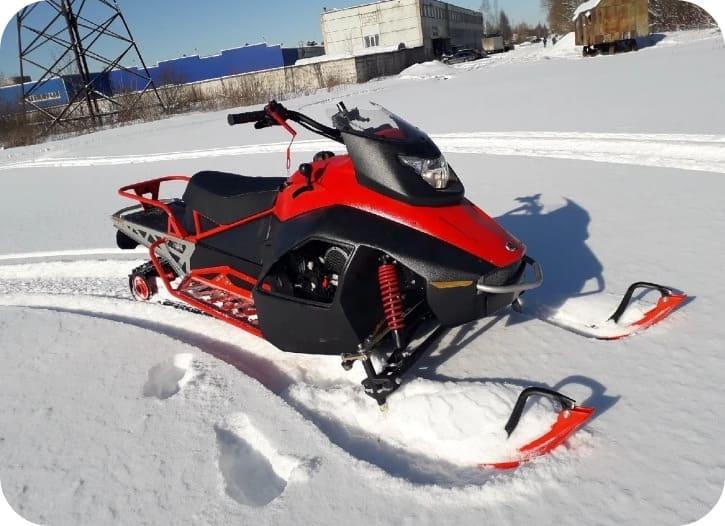 Проходимость снегохода ирбис sf150l