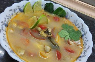 как есть суп том ям