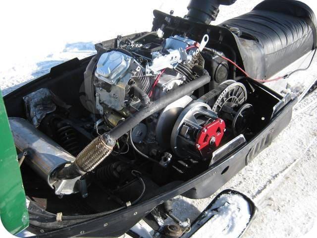 Мотор снегохода